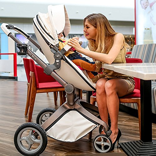 Hot Mom 3 In 1 Travel System Luxury High View Baby