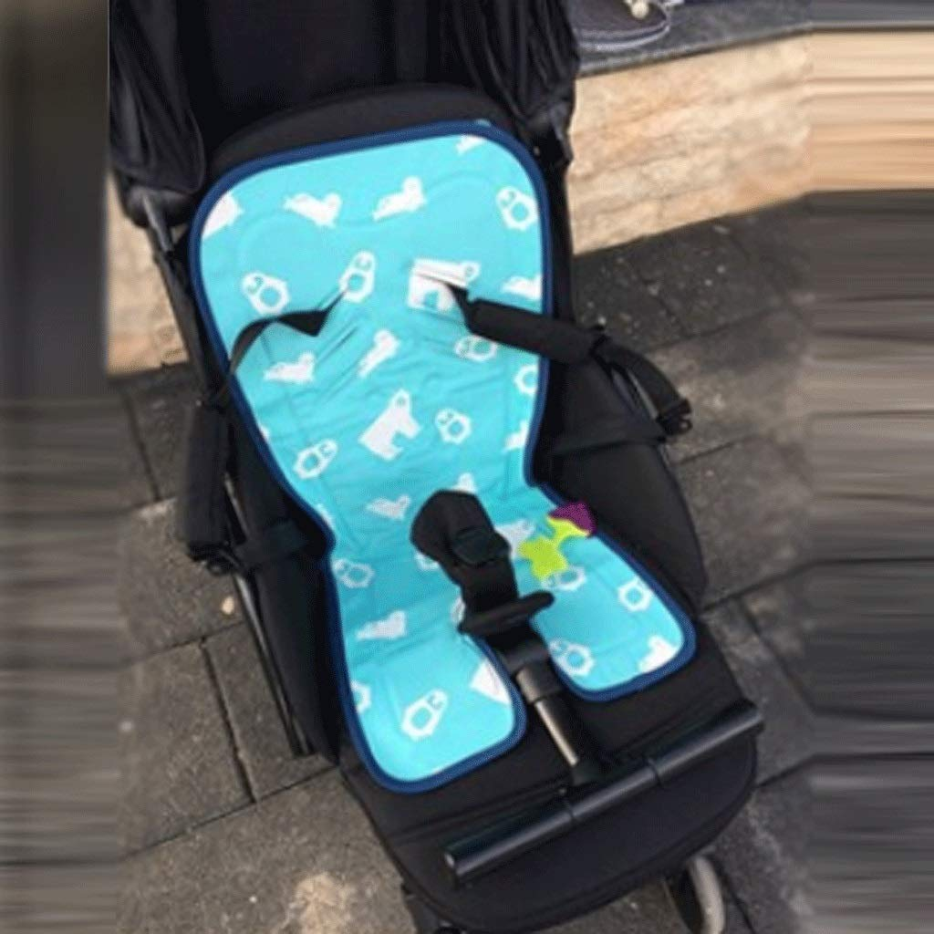 YJDTUJ Stroller Mat Gel Seat Cushion Physical Cooling Cool Pad Seat Cushion Safe and Healthy Cold Without Ice Suitable for All Strollers (Color : Blue) by YJDTUJ (Image #3)