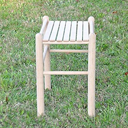 Amazon Com Beecham Swing Co Wood Slat Top Side Table Garden
