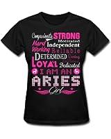 Aries Girl Zodiac Strong Character Women's T-Shirt by Spreadshirt