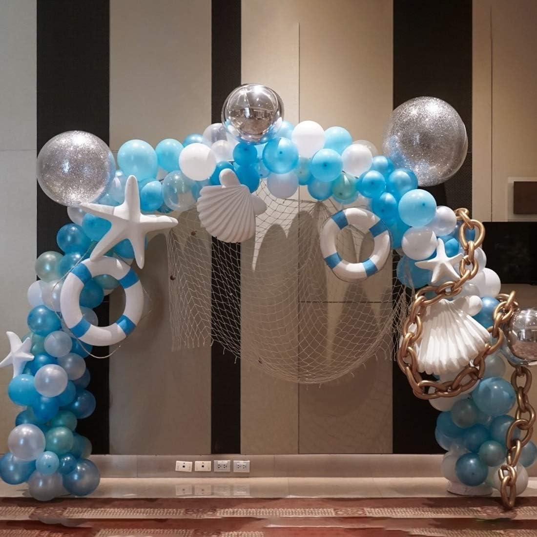 No/ël Remise des Dipl/ômes et D/écoration de Fond de F/ête O-Kinee Kit de Arche Ballon de Table Mariage Arche pour Ballon Noir Kit de Support de Ballon de Table pour Anniversaire F/ête de Naissance