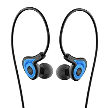 Auriculares, Venstone K62 en oreja Auriculares deportivos para correr Gimnasio con micrófono y volumen controlnoise aislamiento earbudsfor iPhone, Android, ...