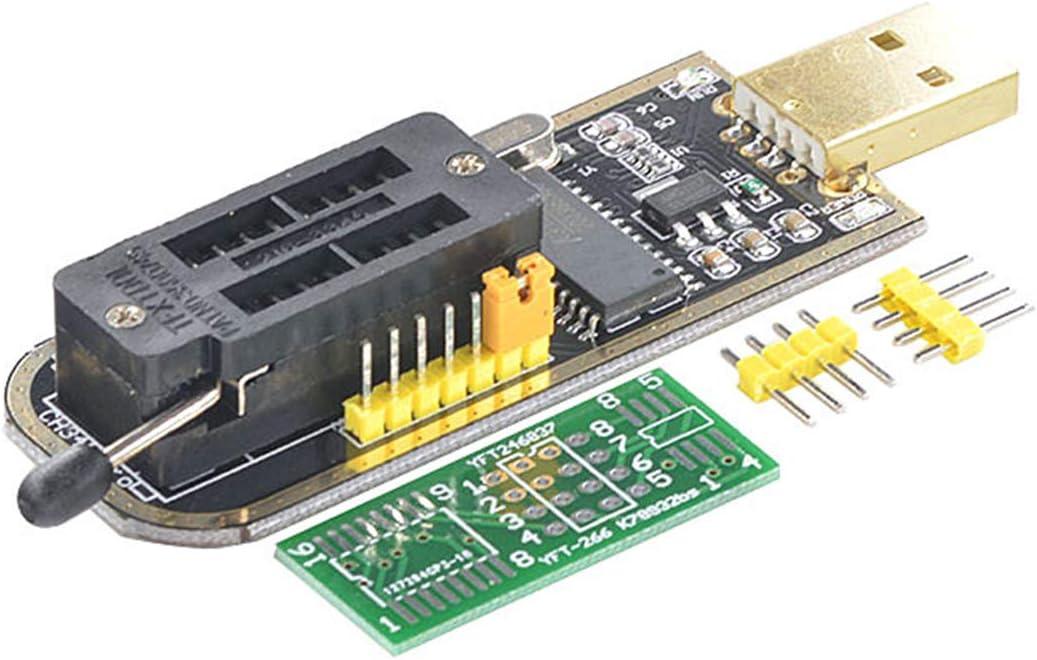 Yoochin CH341A 24 25 Series EEPROM Flash BIOS USB Programmer BIOS Board Module USB to TTL 5V-3.3V