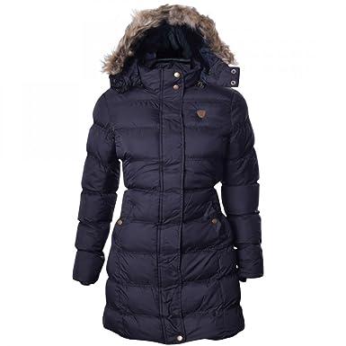 Women's hooded puffer jacket uk