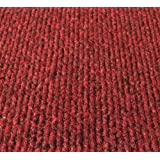 Amazon.com : 6\'x24\' - Red - Indoor/Outdoor Carpet : Area Rugs ...