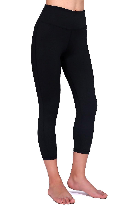 Amazon.com: Daisity Women's Yoga Capris - Gym Activewear Slim ...