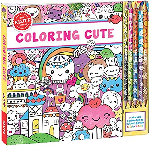Klutz Coloring Cute Toy - Plump Sweet