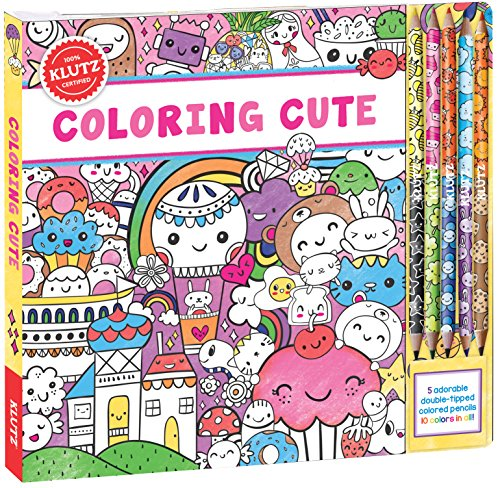 Klutz 9781338103984 Coloring Cute Toy product image