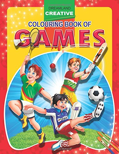 Games (Creative Colouring Books)