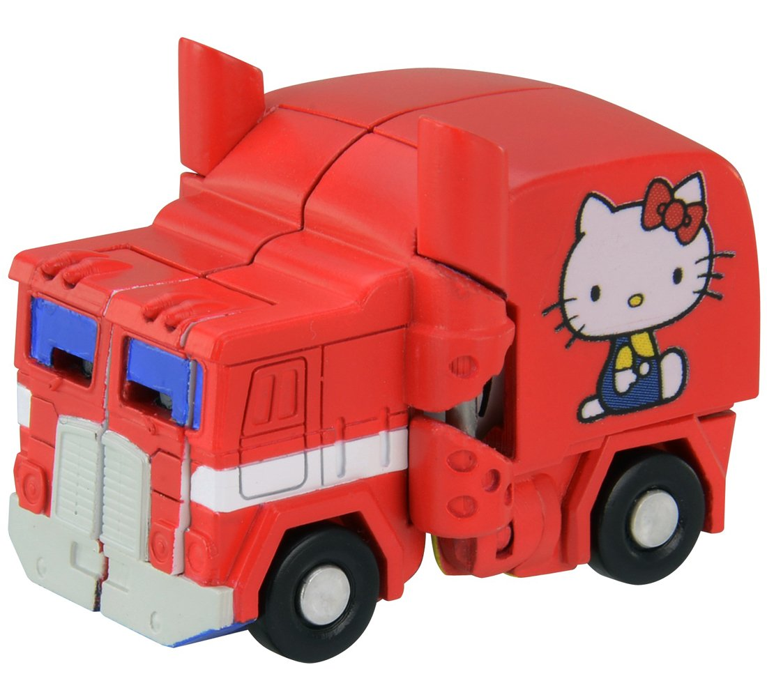 Transformers Qtc01 Hello Kitty Toys Games Tomica Disney Series Dream Star 5th Anniversary