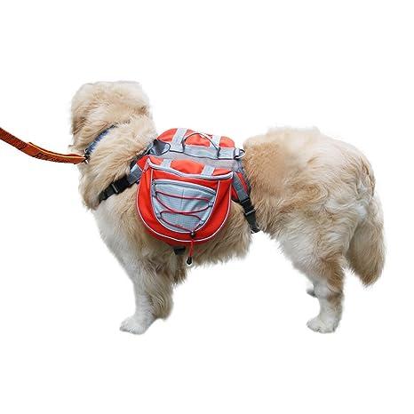 Mochila impermeable ajustable para mascotas con arnés para perros ...