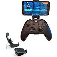 XBERSTAR Smart Phones Mount Bracket Hand Grip Stand Collapsible Foldable Clip Holder for Xbox ONE S Slim Ones Gamepad Controller