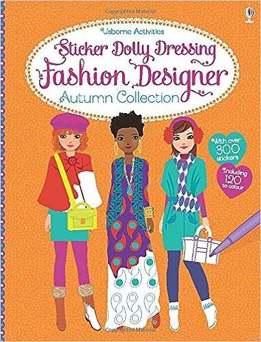 Sticker Dolly Dress Fashion Designer Aut Fiona Watt 9781409570554 Amazon Com Books