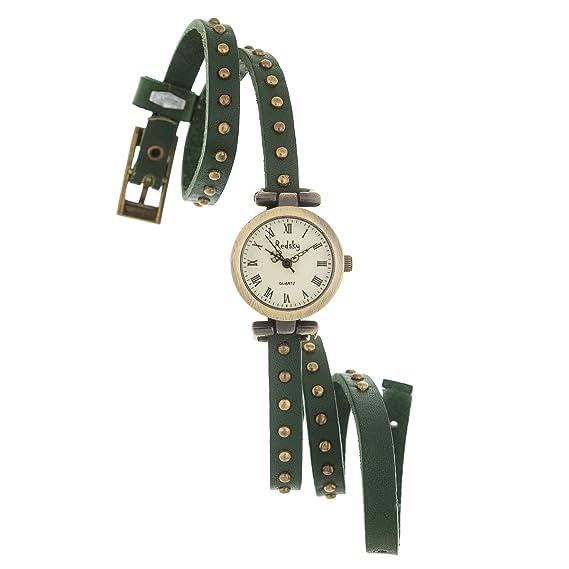 Reloj de Mujer de Moda con Correa de Cuero de Alta Calidad Regalo Perfecto (RXL03