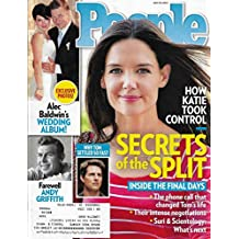 Katie Holmes l Alec Baldwin l Andy Griffith - July 23, 2012 People Magazine