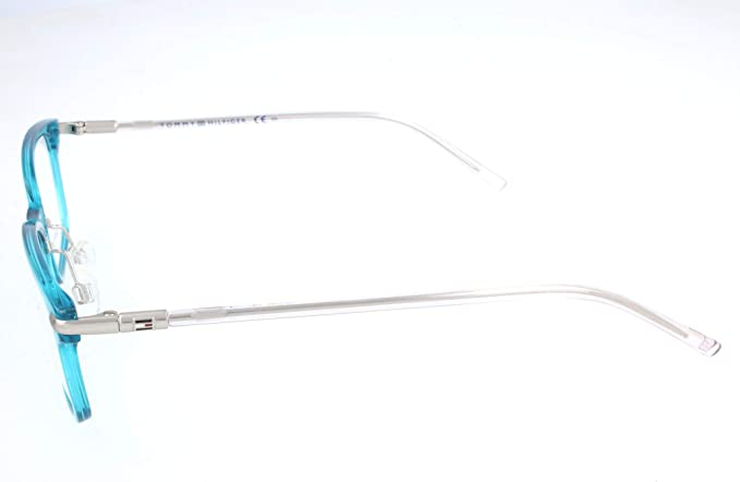 Tommy Hilfiger Unisex-Erwachsene TH 1400 Brillengestelle Blau 53