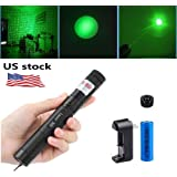 Amazon Price History for:Preeyawadee Green Laser Pointer Pen Adjustable Burning Match Flashlight Torch 18650 Battery (Gold)