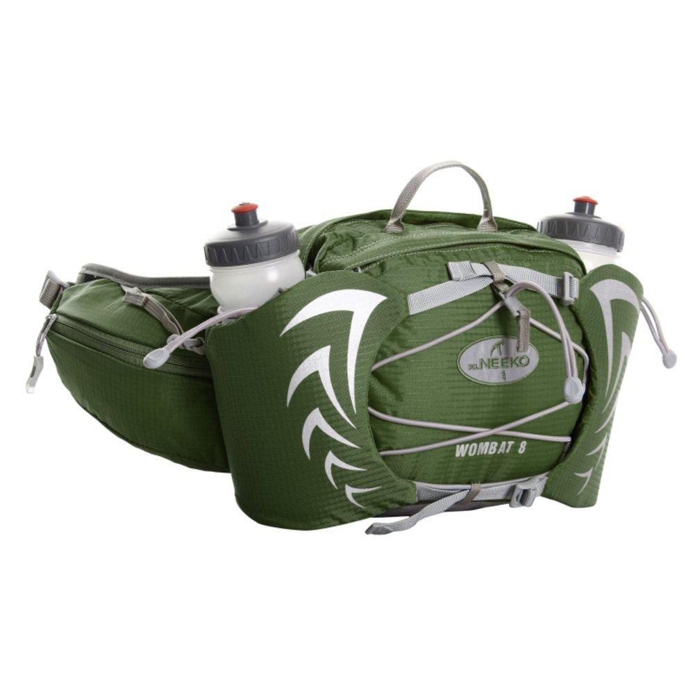 Vert  Sports de plein air multifonction poches    FonctionneHommest poche étanche   Deux bouteilles d'eau