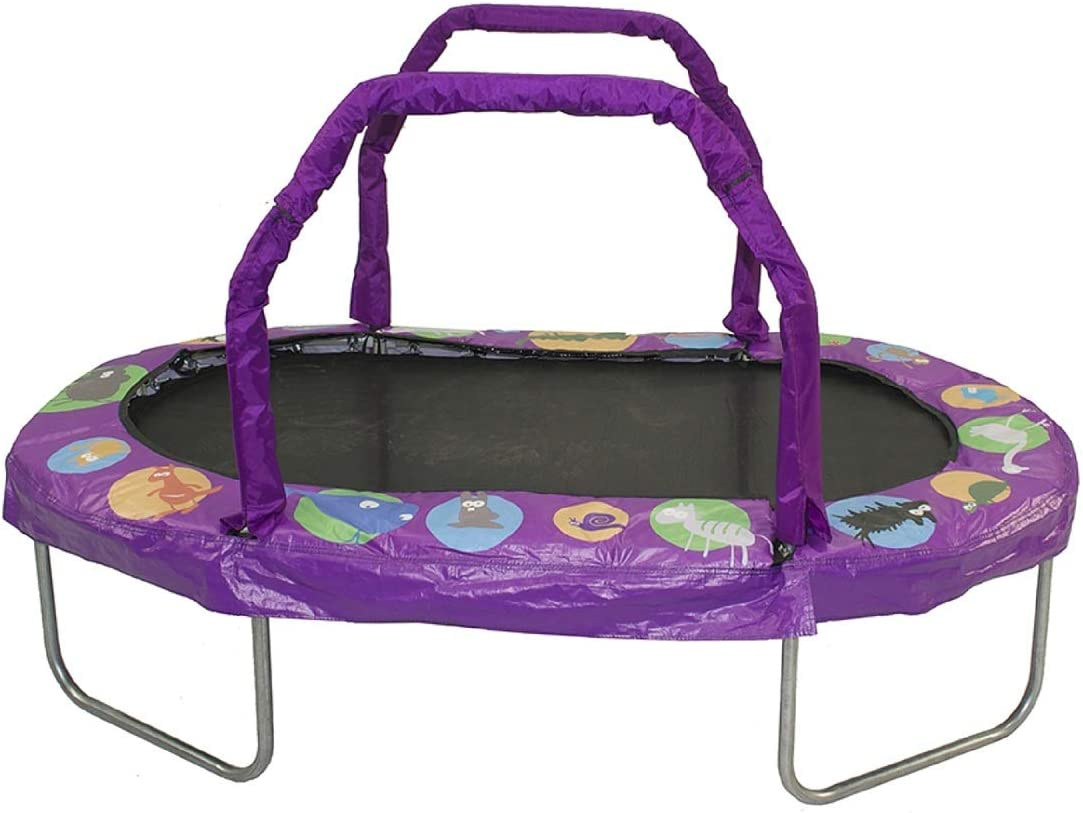 JumpKing Mini Oval 18 x 66 Trampoline