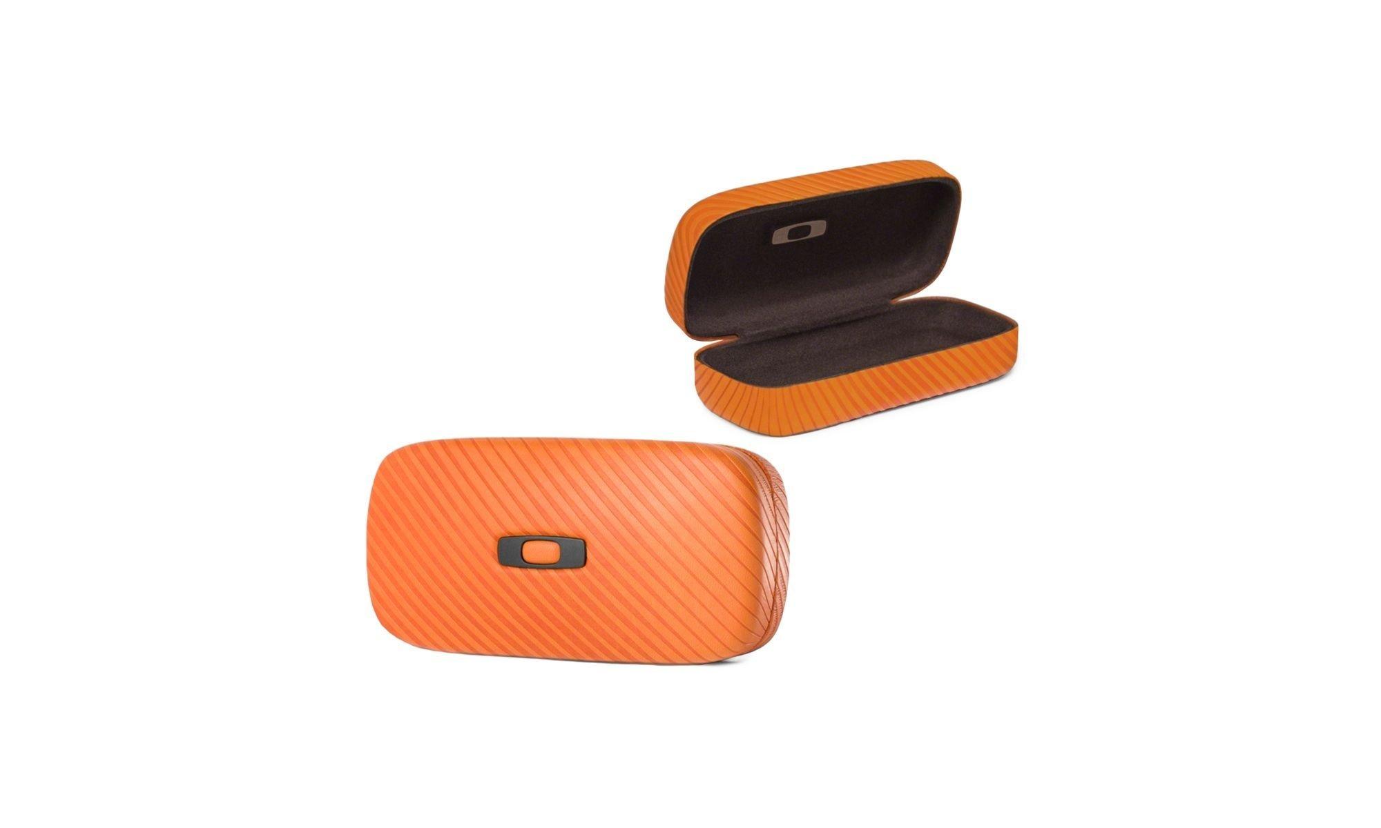 Oakley Square O Hard Men's Storage Case Sunglass Accessories - Persimmon / One Size by Oakley