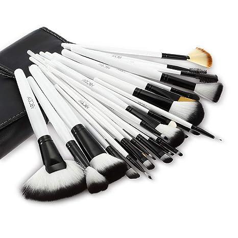 Set de brochas de maquillaje profesional Abody, pinceles de madera (36 piezas) + bolsa de estuche