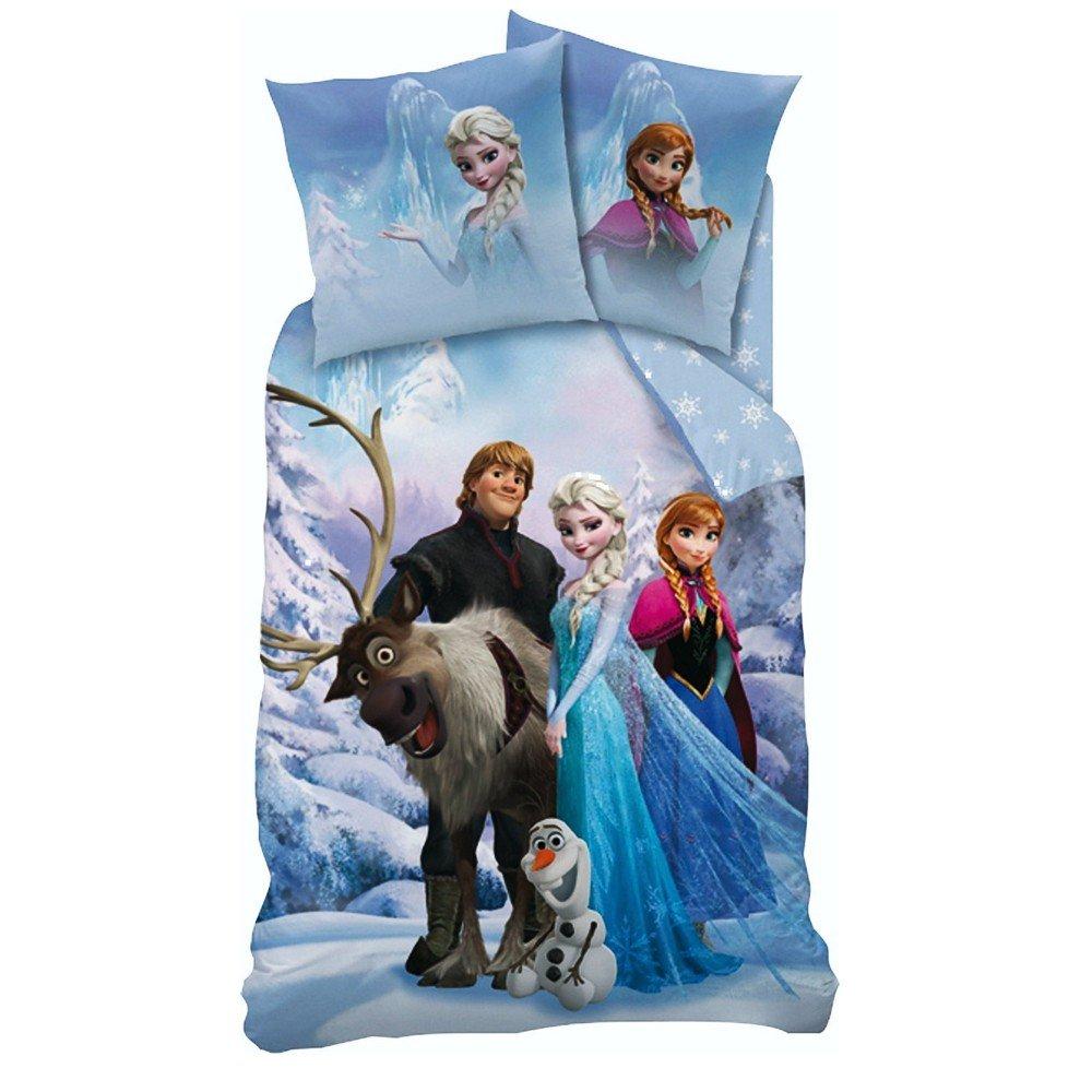 Disney Frozen - niños Ropa de cama Juego de cama reversible Linon Sven 80/80 x 135/200cm Whitehouse