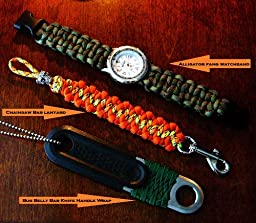 Crafting with paracord 50 fun and creative projects using the world