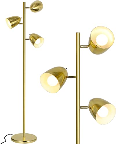 Industrial LED Reading and Floor Lamp