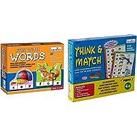 Creative Educational Aids P. Ltd. 0639 Fun with Words & Creative Educational Aids P. Ltd. 1058 Think and Match - I