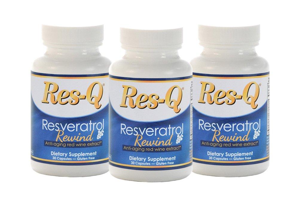 Res-Q Resveratrol Rewind 3-Pack