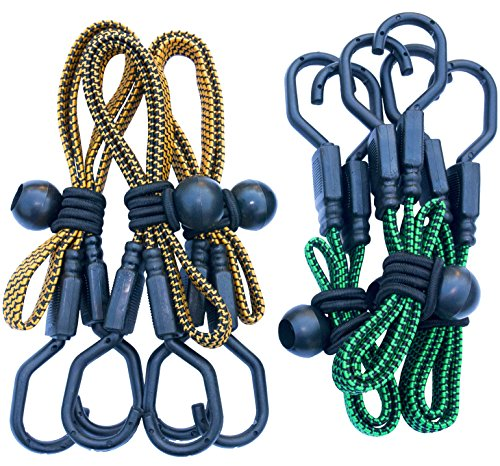 gee Cords 6 VARIETY PACK with BONUS 6 Ball Bungees | 24