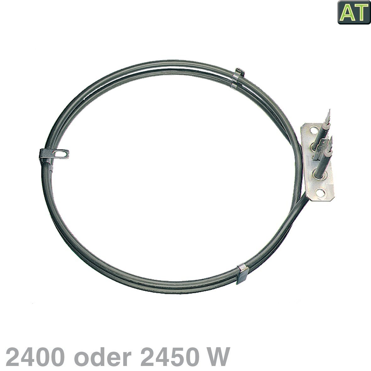 ersetzt Ausfüh Heizelement Heißluft 2400W 230V Backofenheizung für die Heißluft