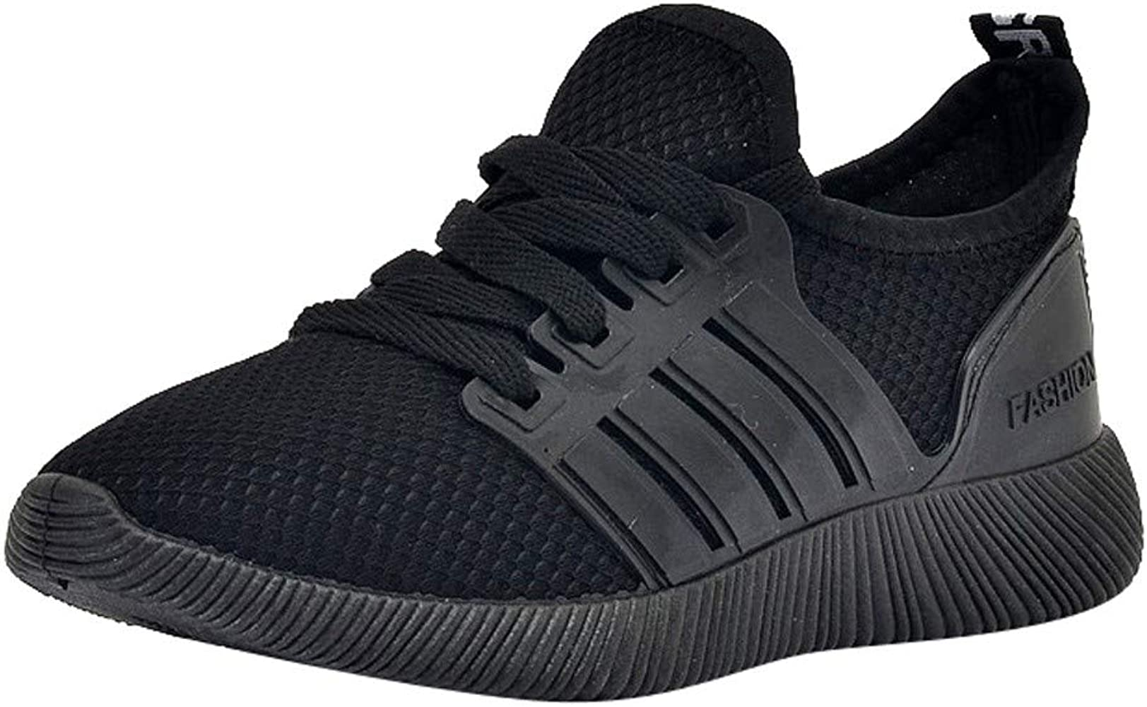 Zapatos de Mujer, ASHOP Zapatillas Deportivas de Running para Mujer Estudiante Respirable Sneakers de Entrenamiento (Negro,EU 36): Amazon.es: Ropa y accesorios
