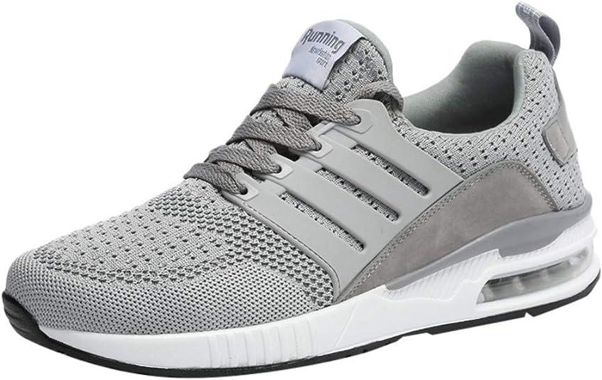 Jodier Zapatillas de Trail Running para Hombre De Montañismo Deporte Running Zapatos Talla 39-47 para Correr Gimnasio Sneakers Deportivas Padel Transpirables Casual Zapatos: Amazon.es: Zapatos y complementos