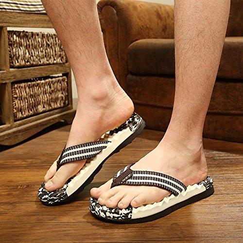 playa de Zapatillas sandalias moda Chanclas Zapatillas brown suelas de hombres para Hombres blandas zapatillas zapatillas IZXTnP
