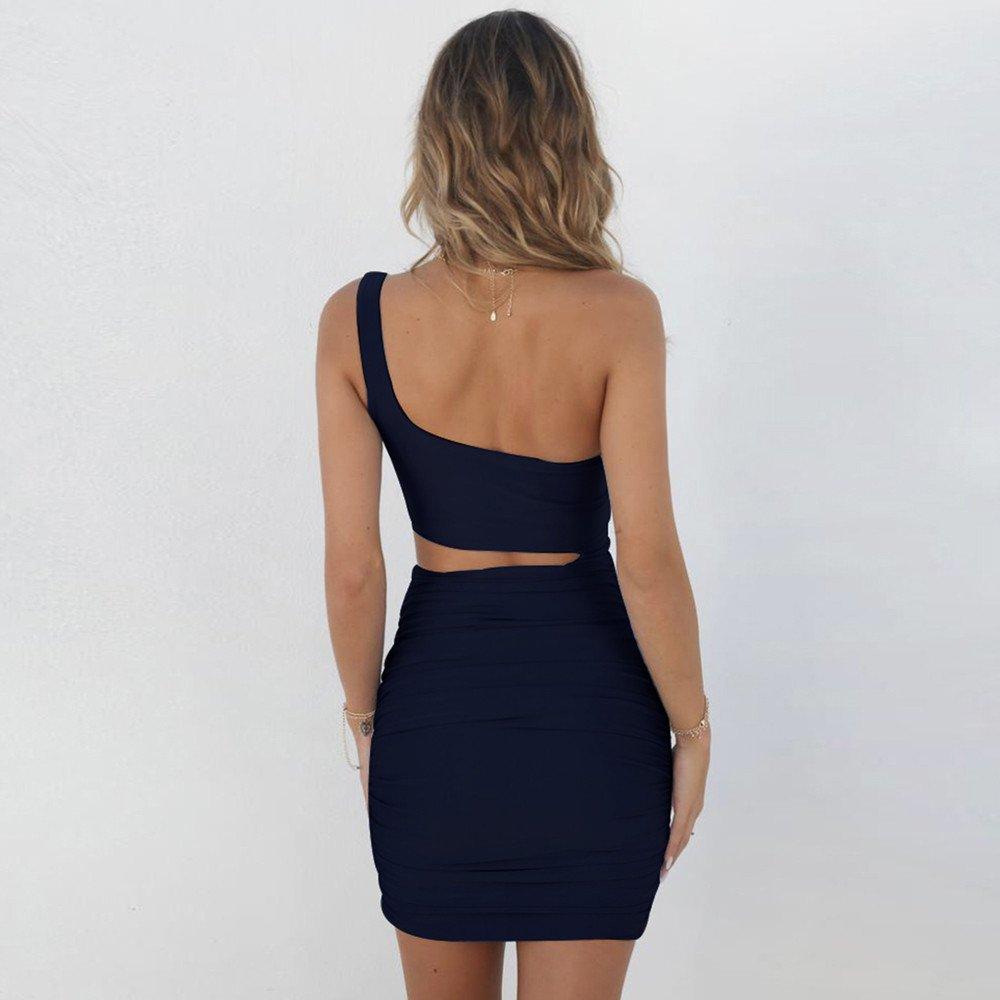 Donna Vestito A Maniche Corte Camicia Lunga//Miniabito con motivo a punta