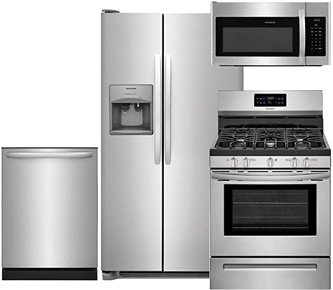 Amazon.com: Frigidaire acero inoxidable paquete con ...