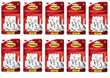 Command Wire Hooks Value Pack, Small, White, 9-Hooks (17067-9ES) (10-(Pack))
