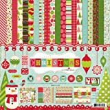 "Echo Park Paper Everybody Loves Christmas Collection Kit 12""X12"