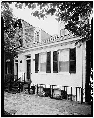 Photo: McCleery House, 1068 Thirtieth Street, Washington, District of Columbia, DC, HABS . Size: 8x1 (Washington Dc Gift Basket)