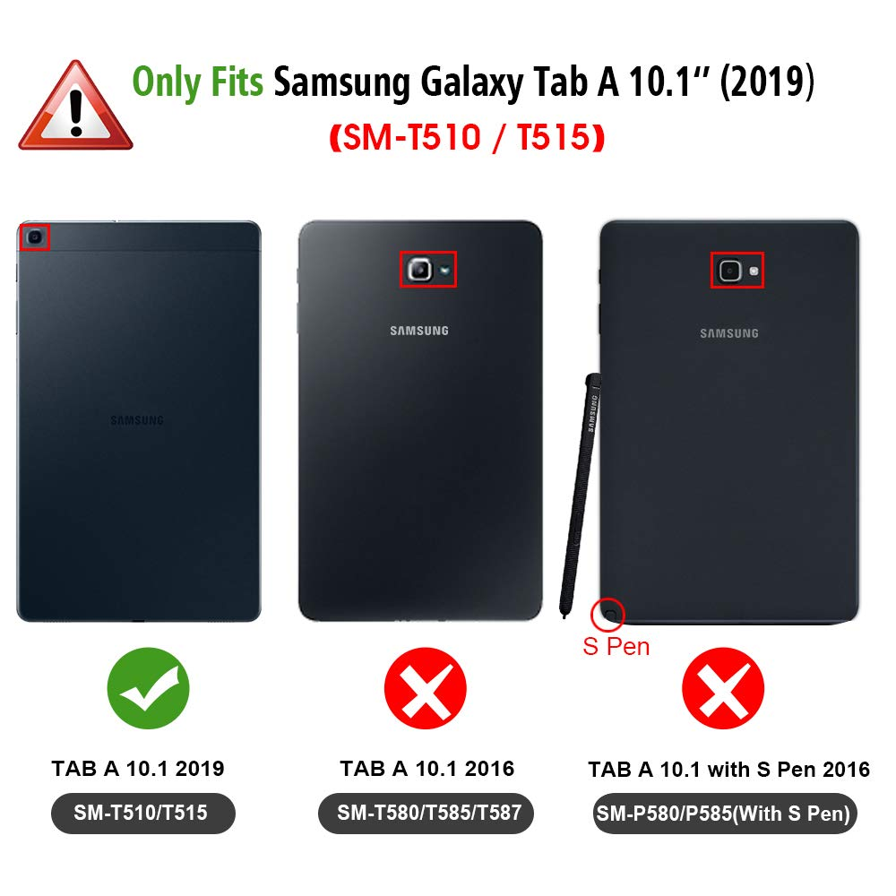 Fintie SlimShell Case for Samsung Galaxy Tab A 10.1 2019 Model SM-T510//SM-T515 Autumn Love Super Thin Lightweight Stand Cover for Samsung Galaxy Tab A 10.1 Inch Tablet 2019 Release