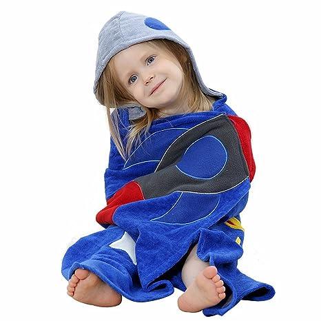 Toalla con capucha para bebés, Chickwin Manta de algodón Toallita de ...