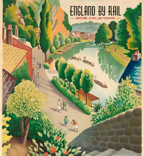 England by Rail 2018 Wall Calendar