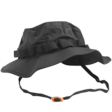 Teesar US GI Trilaminate Boonie Hat Black  Amazon.co.uk  Clothing 96c204230f3