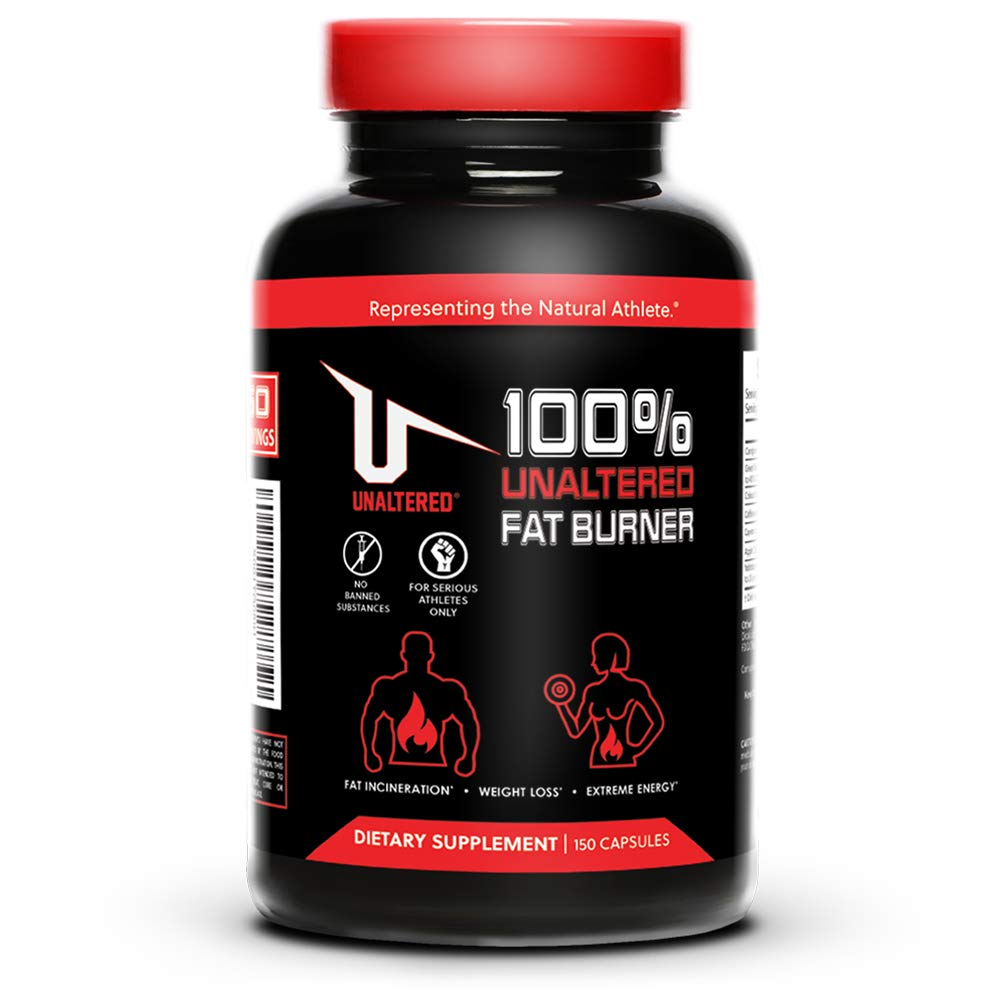 Max Strength Weight Loss Pills + 100% Pure Forskolin Extract to Support Healthy Metabolism - Control Appetite - Boost Energy Levels - Also Includes Cayenne Pepper, Apple Cider Vinegar & Green Tea by UNALTERED