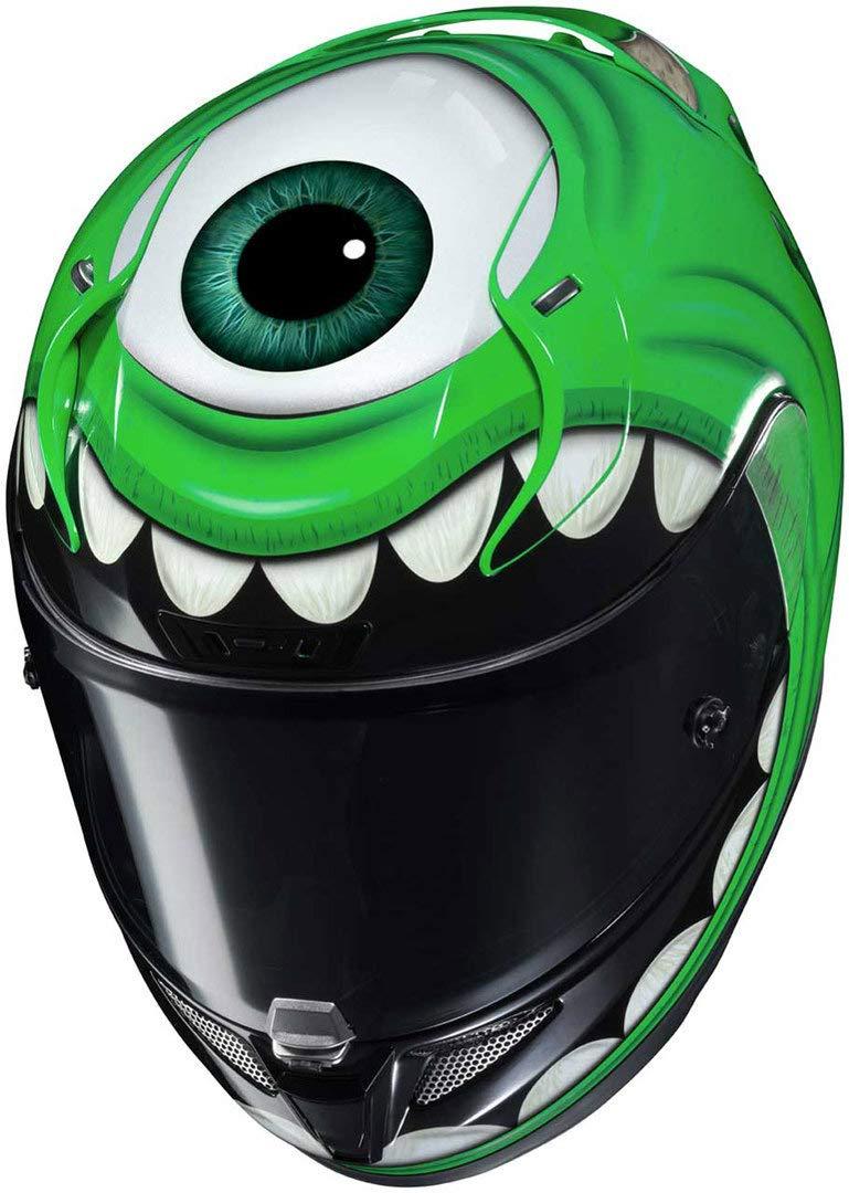 Grun Motorradhelm HJC RPHA 11 WAZOWSKI Monstres Cie L