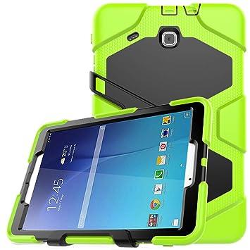 Amazon.com: TianTa - Carcasa híbrida para Galaxy Tab E 9,6 ...