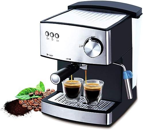 JINRU 1.6L Espresso Máquina De Café Eléctrica Express Espuma Eléctrica Cafetera Cafetera Leche Eléctrica Frother Electrodomésticos De Cocina 220V: Amazon.es: Hogar