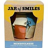 smiles by julie pot en verre contenant 31 citations sur papier color id e cadeau pour la f te. Black Bedroom Furniture Sets. Home Design Ideas