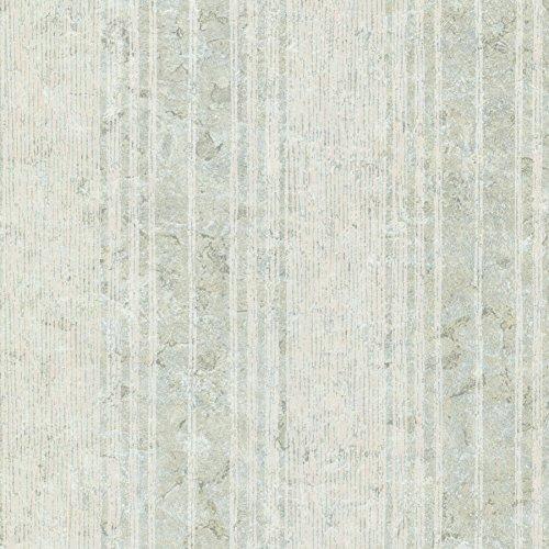 Kenneth James 672-20040 Conetta Multi Stripe Texture Wallpaper, Light Green